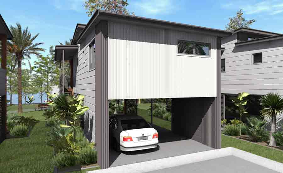 3d design two storey cabin accommodation