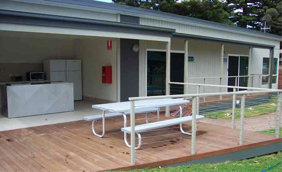 common facilities caravan park