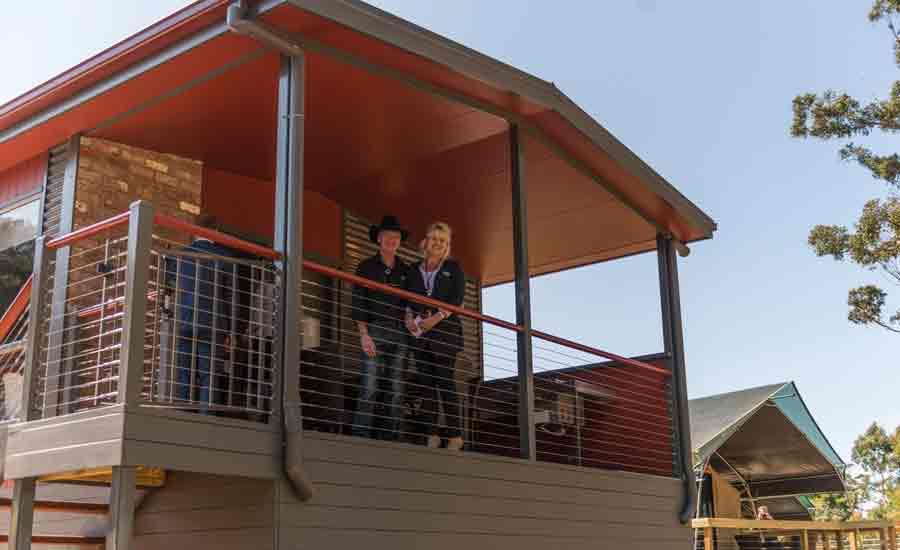 cabin deck tourist park