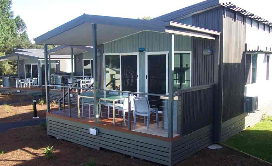 innovative cabin design caravan park accommodation
