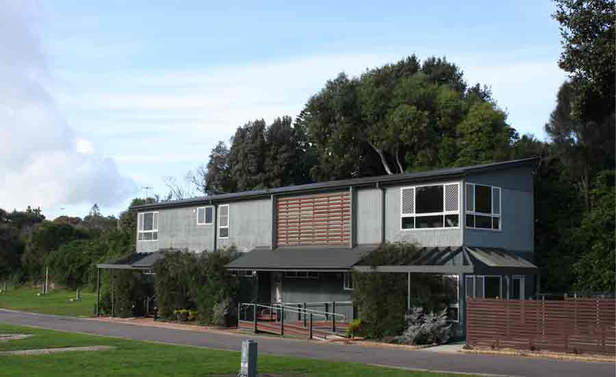 modern amenities caravan park