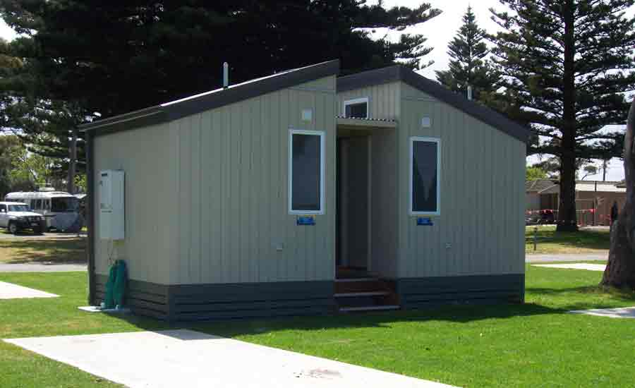 private ensuite block caravan park design