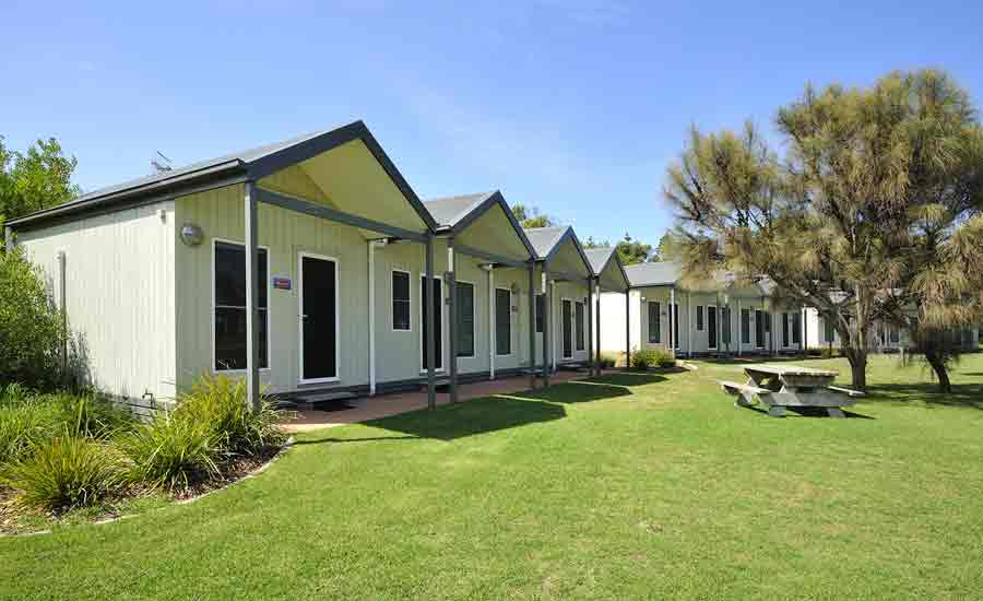 studio rooms caravan park accommodation