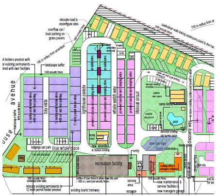 caravan park design and master plan example innoviv park services
